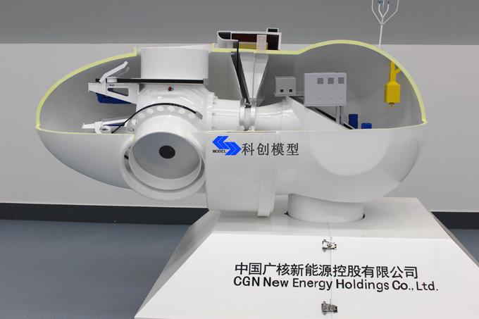 科创模型再添精品力作--------中广核新能源公司项目顺利交付